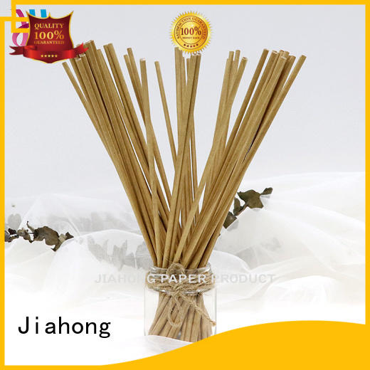 Jiahong handiwork fsc certified paper sticks export for cotton swabs