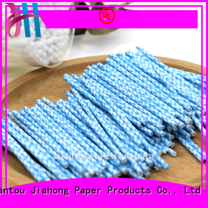 Biodegradable safe cotton swabs paper sticks Cotton Stick 2.4*70mm