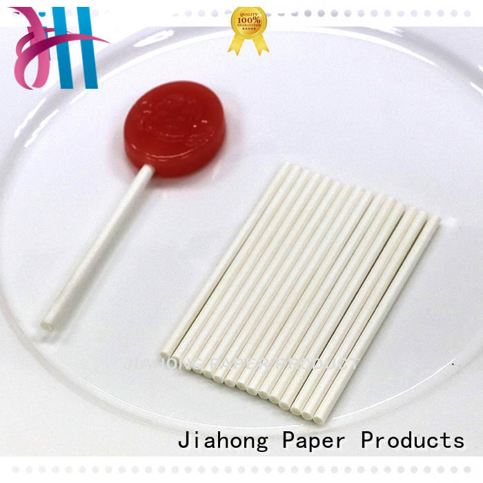 Jiahong striped personalized lollipop stickers in different colors for lollipop