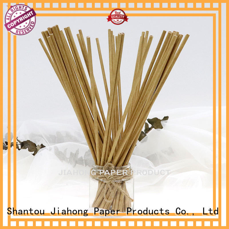 Jiahong smooth handcraft paper sticks from manufacturer for marshmallows