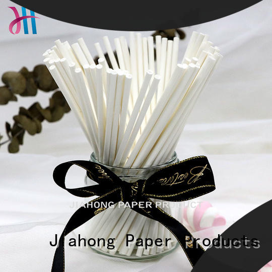 Jiahong clean fsc certified paper sticks wholesale for DIY baking