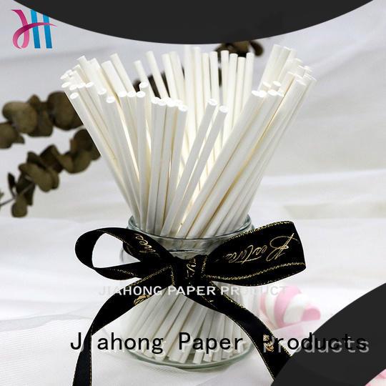 Jiahong eco hand fan sticks certification for marshmallows