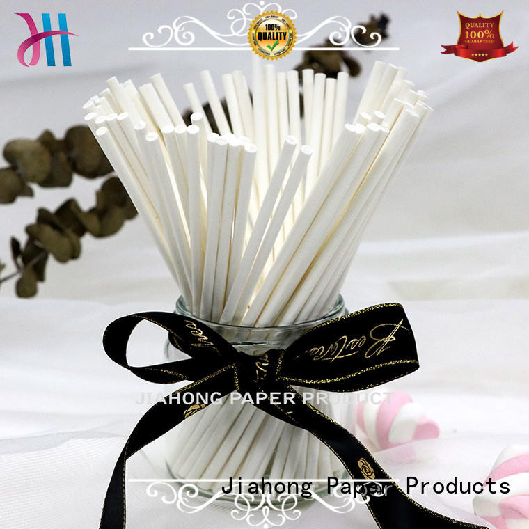 clean custom paper sticks factory price for marshmallows Jiahong