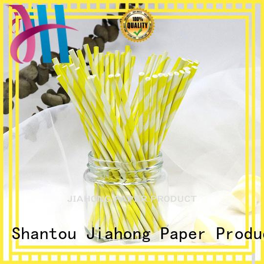 Jiahong candy long lollipop sticks markting for lollipop