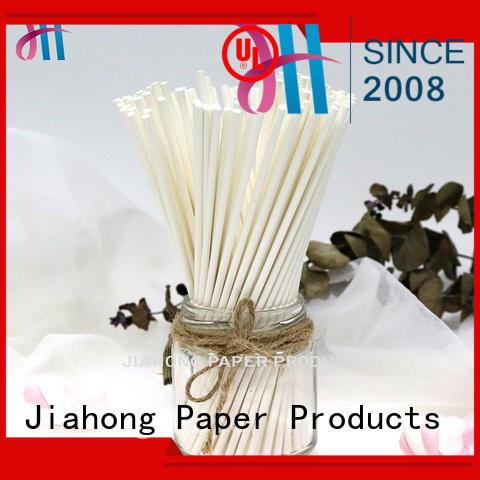 Jiahong certificated paper lolly sticks vendor for lollipop