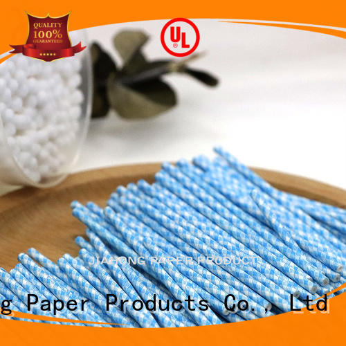 Jiahong high-quality cotton swab paper stick producer for hospital