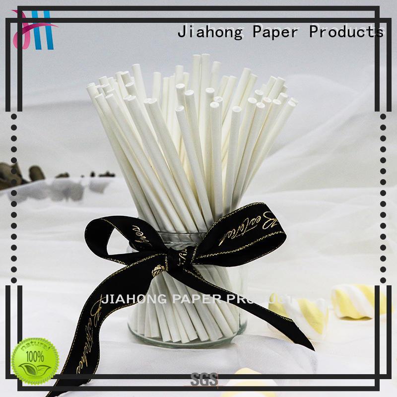 Jiahong new-arrival lollipop paper stick for wholesale for lollipop