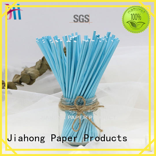 fashion design long lolly sticks in different colors for lollipop