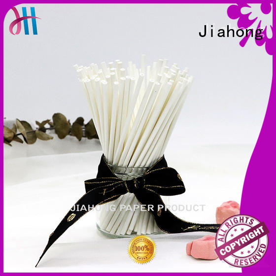 Jiahong safe long coffee stirrers reusable for packed coffee