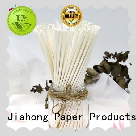 Jiahong clean lollipop paper stick markting for lollipop