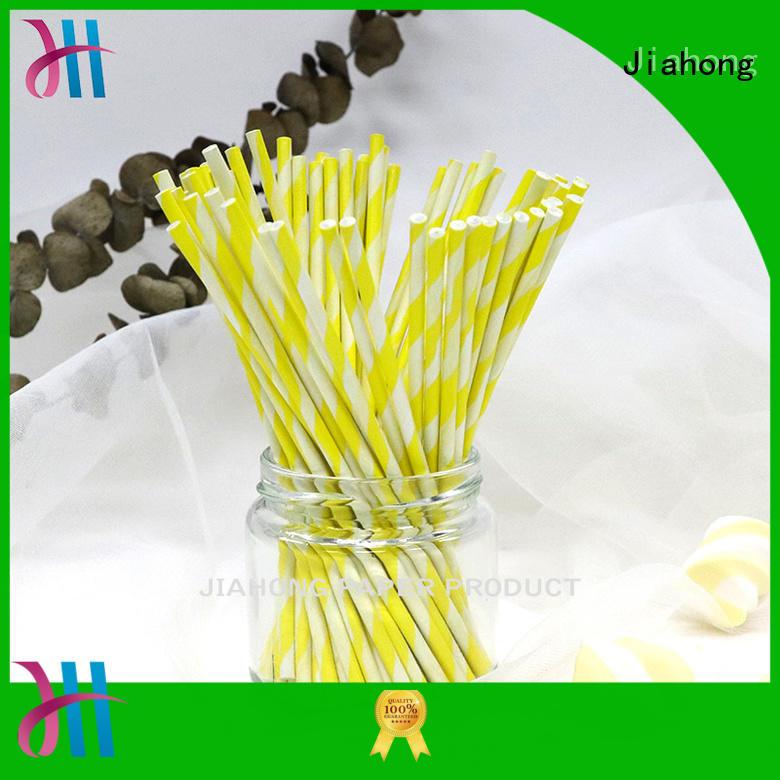Jiahong long lollipop paper stick for lollipop