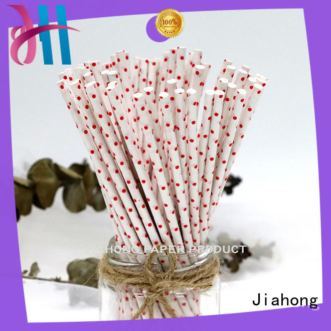 eco friendly long lolly sticks markting for lollipop Jiahong