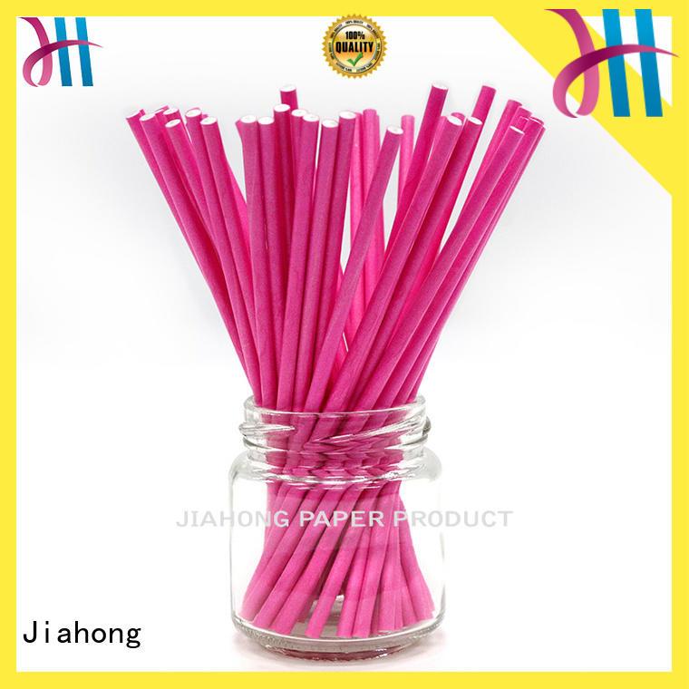 Jiahong fashion design long lollipop sticks for wholesale for lollipop