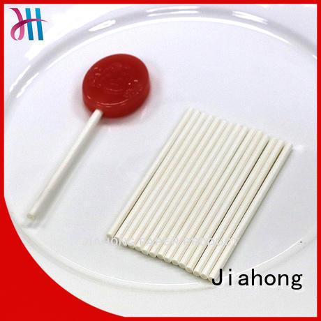 Jiahong striped stick lollipop for lollipop