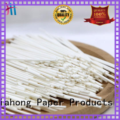 Jiahong safe paper stick supplier for medical cotton swabs