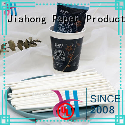 Jiahong paper coffee stir sticks from manufacturer for restaurant