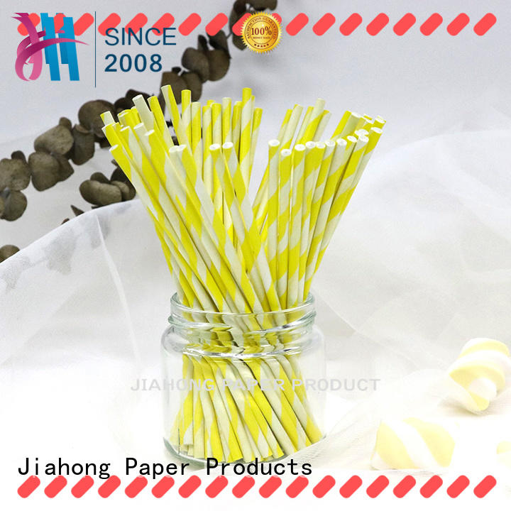 Jiahong colorful coloured lollipop sticks for lollipop