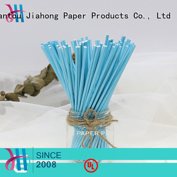 certificated white lollipop sticks bar for lollipop Jiahong