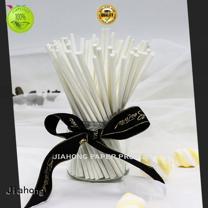 Jiahong fda paper lolly sticks factory price for lollipop