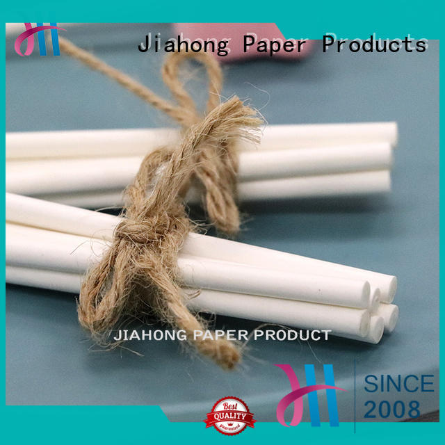 Jiahong popular lollipop paper stick markting for lollipop