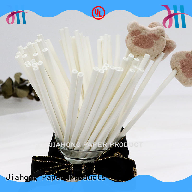 Jiahong widely used long lollipop sticks in different colors for lollipop