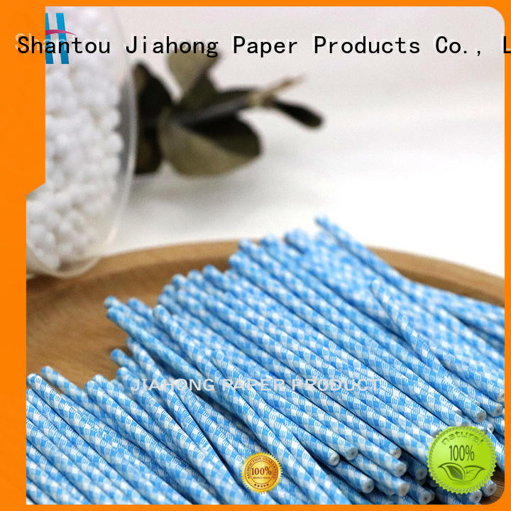 Jiahong durable cotton swab stick buds for hospital
