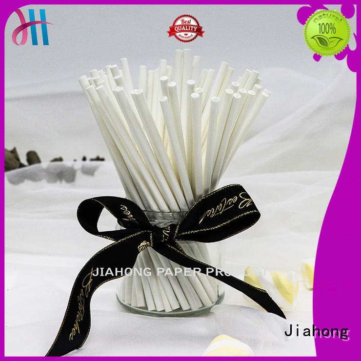 Jiahong fda lollipop paper stick grab now for lollipop