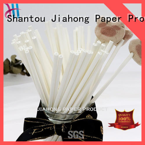 Jiahong widely used paper lolly sticks shop now for lollipop