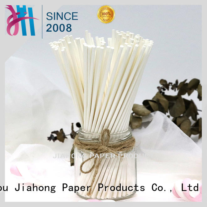 Jiahong fashion design extra long lollipop sticks types for lollipop
