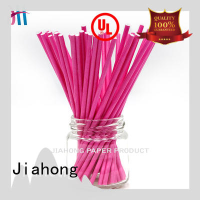Jiahong professional bling lollipop sticks printed for lollipop