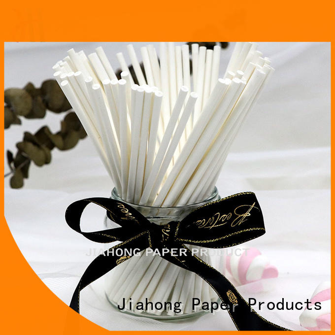 Jiahong fine quality fsc certified paper sticks dropshipping for DIY baking