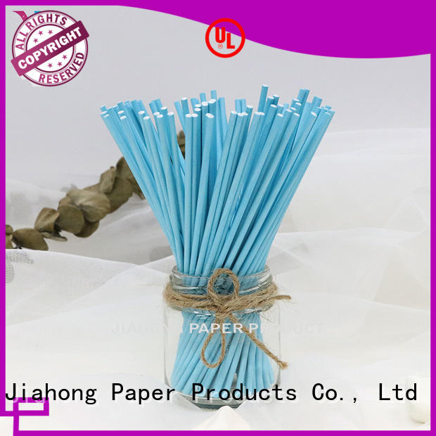 Jiahong certificated custom lollipop sticks types for lollipop