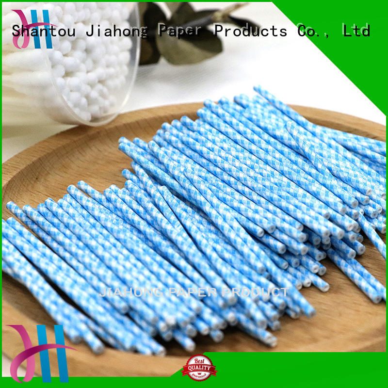 Jiahong durable cotton swab paper stick marketing for medical cotton swabs