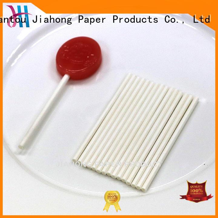 Jiahong environmental colored lollipop sticks factory price for lollipop