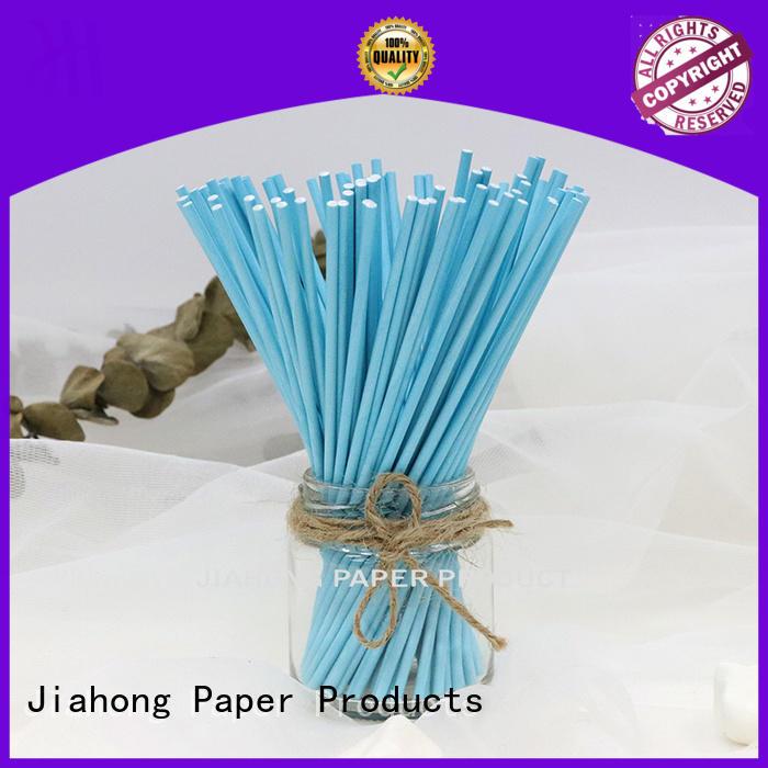 Jiahong white lollipop paper stick shop now for lollipop