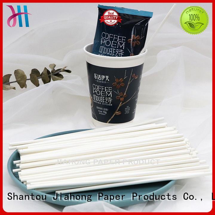 Jiahong safe coffee stir sticks export for cafe