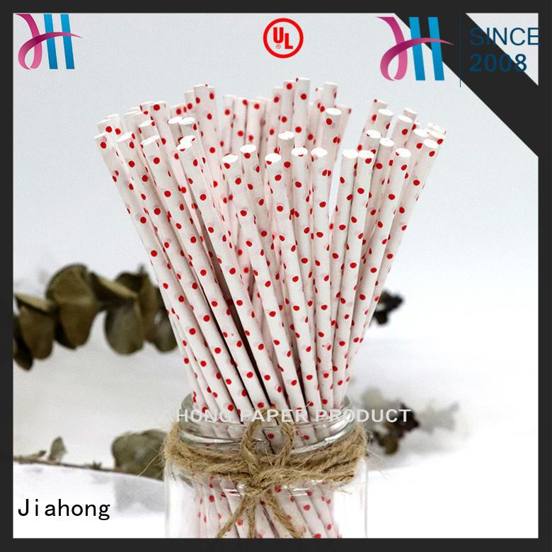 Jiahong certificated large lollipop sticks markting for lollipop