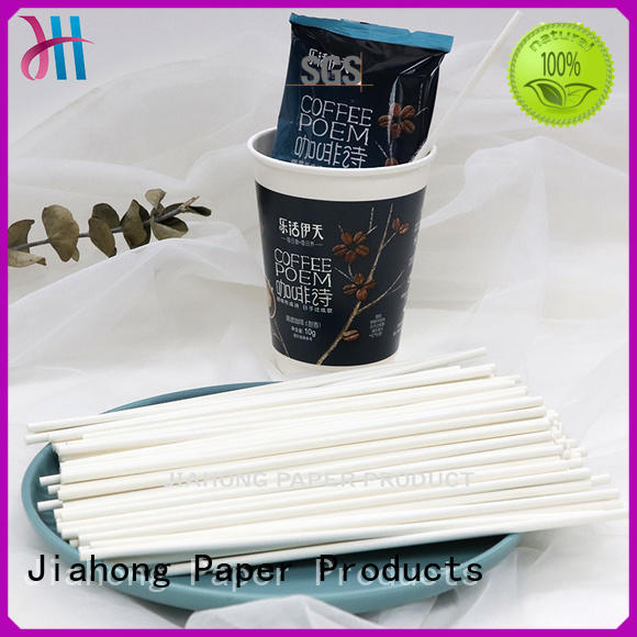 Jiahong stirring paper coffee stirring stick from manufacturer for restaurant
