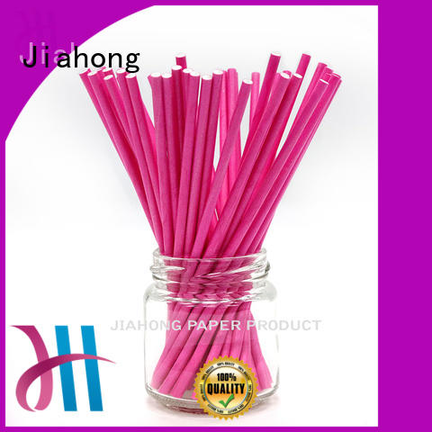 Jiahong fashion design large lollipop sticks for lollipop