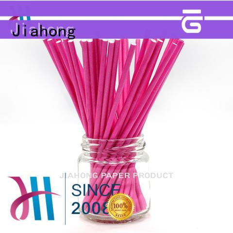 Jiahong safe chocolate lollipop sticks for lollipop