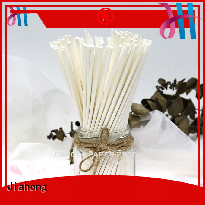 Jiahong lolly coloured lollipop sticks factory price for lollipop