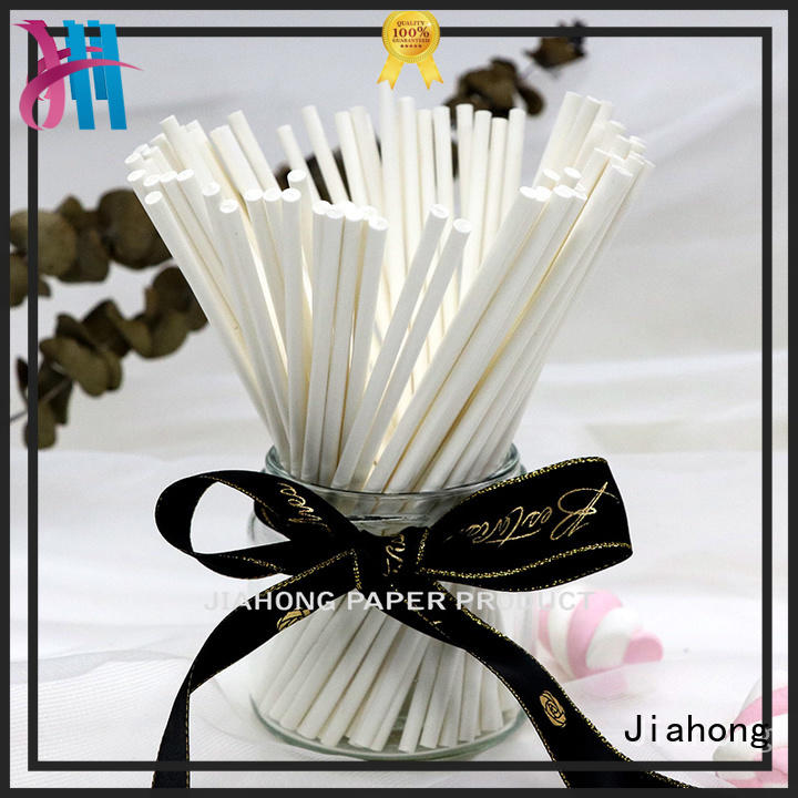 color handiwork paper sticks wholesale for lollipops Jiahong