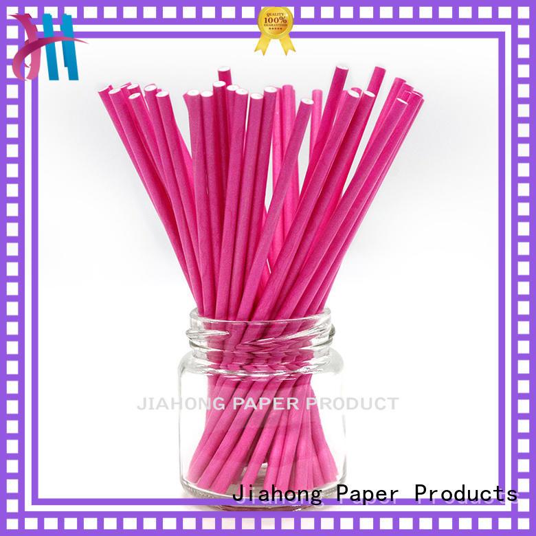 Jiahong fashion design blue lollipop sticks for lollipop