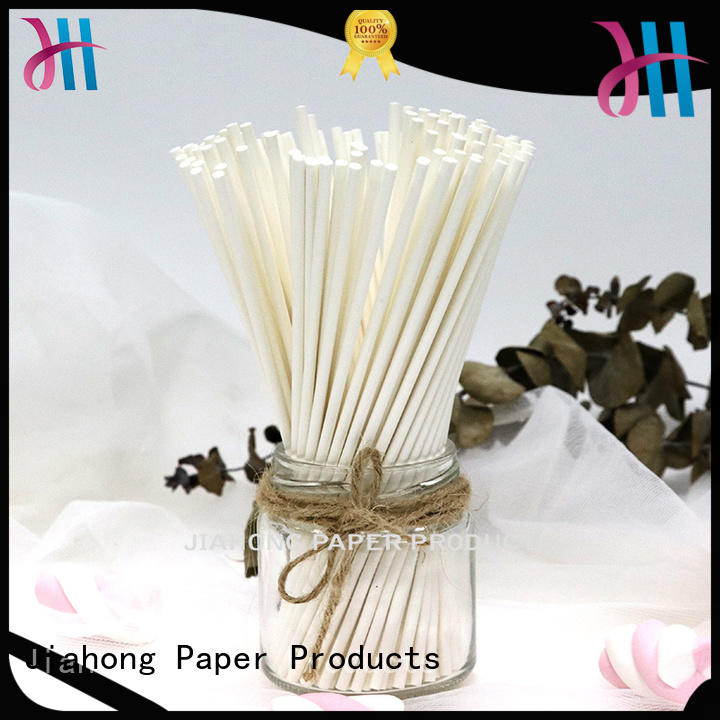 Jiahong widely used large lollipop sticks vendor for lollipop