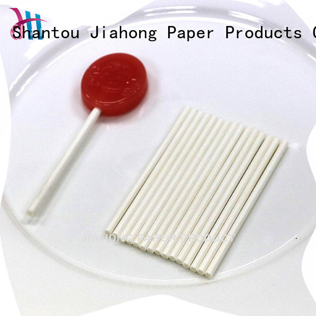 Jiahong clean lollipop sticks types for lollipop