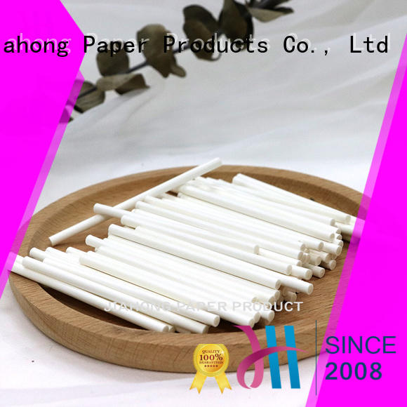 Jiahong fine quality fsc certified paper sticks export for marshmallows