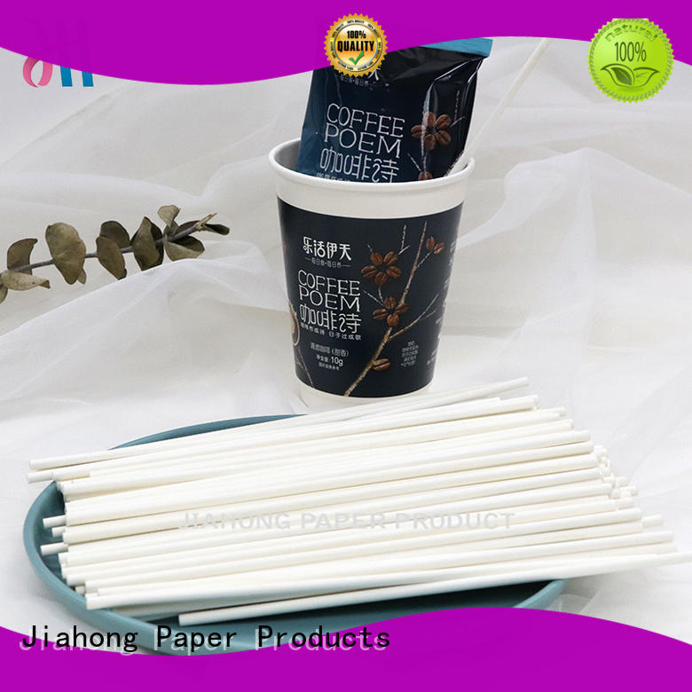 Jiahong environmental friendly coffee stir sticks reusable for restaurant