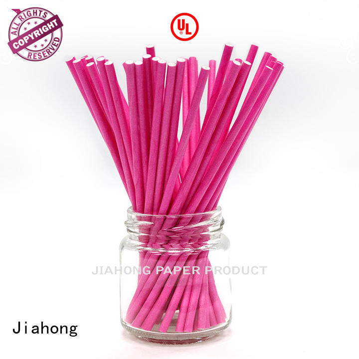 Jiahong new-arrival colored lollipop sticks for wholesale for lollipop