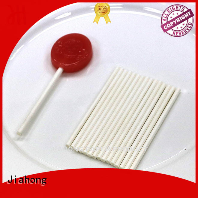 Jiahong widely used colored lollipop sticks for lollipop