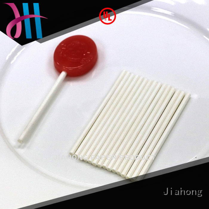 Jiahong widely used personalized lollipop stickers for lollipop